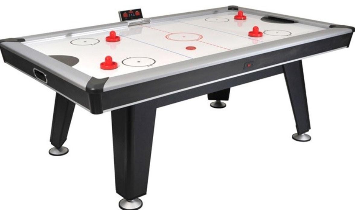 Airhockeytafel voor op de zaak